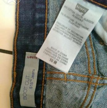 levi made in china