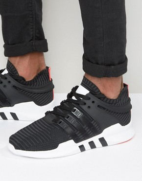 adidas Originals EQT Support Advance Sneakers In Black BB1260 91.42 Pounds + 23% OFF