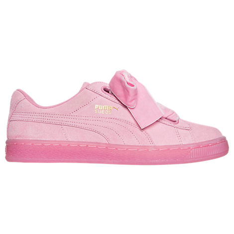 Women's Puma Suede Heart Reset Casual Shoes USD79.99 + 10% OFF