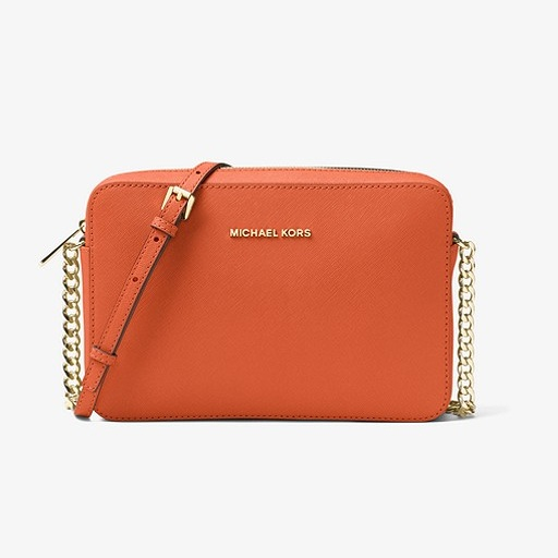 Jet Set Large Saffiano Leather Crossbody USD148