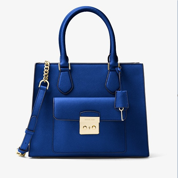 Bridgette Medium Saffiano Leather Tote USD179