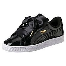 Basket Heart Patent Women's Sneakers USD85 + 10% OFF
