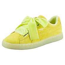 Suede Heart Reset Women's Sneakers $80.00 + 10% OFF