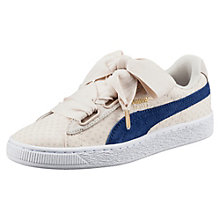 Basket Heart Denim Women's Sneakers $80.00