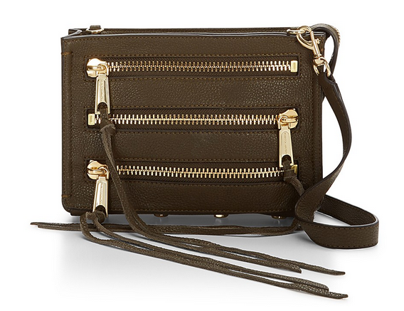 Moto 3 Zip Crossbody USD98 + 30% OFF