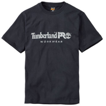 Men's Timberland PRO® Short Sleeve Cotton Motion Logo T-Shirt $18.00 -> $14.99