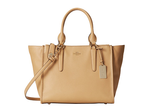 COACH Crossgrain Leather Crosby Carryall 139.99USD + 20% OFF