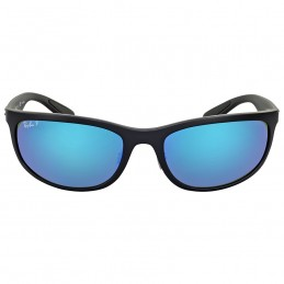 Ray Ban Polarized Blue Mirror Sunglasses USD89.99