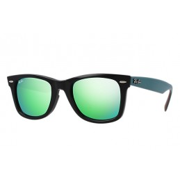 Ray Ban Original Wayfarer Green Flash Sunglasses USD69.99