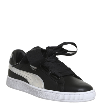 Basket Heart Trainers Black Explosive 64.99GBP + 10% OFF