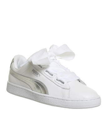 Basket Heart Trainers White Explosive  64.99 GBP + 10% OFF