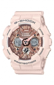 G-Shock GMA-S120MF-4A S Series Watch - Pink 129.99USD + 35 % OFF