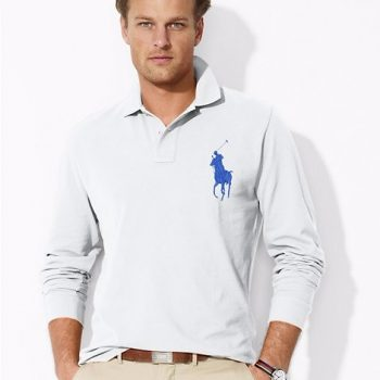 Classic Fit Cotton Mesh Polo USD39.99 +30% OFF