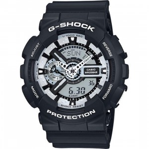 G-Shock Watches GA110 (black / white) USD129.99 + 30% OFF
