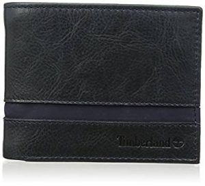 Timberland Men's Striped Lg Bfld W Coin Pocket Wallet 20 POUNDS + 20% OFF + 20% TAX REFUND