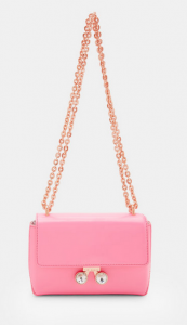 Crystal bobble leather cross body bag 77GBP + 15% OFF