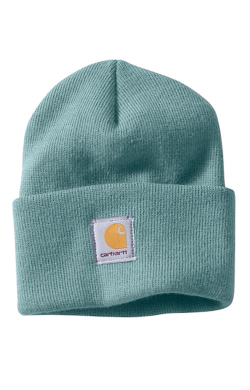 102Carhartt, Acrylic Watch Hat - Blue Green