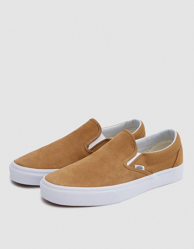 381Vans, Classic Suede Slip-On Shoe - Medal Bronze