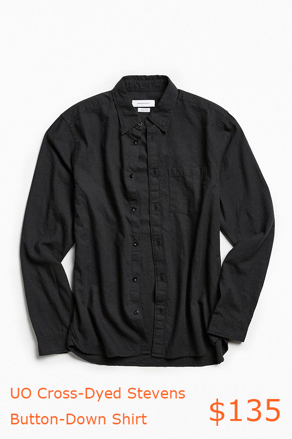 135UO Cross-Dyed Stevens Button-Down Shirt