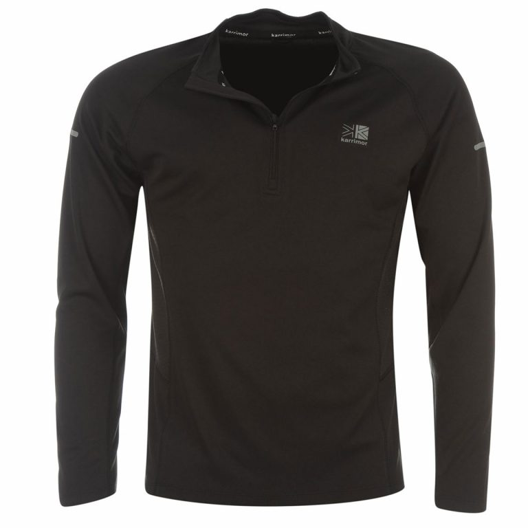 184KARRIMOR Men's ¼-Zip Long-Sleeve