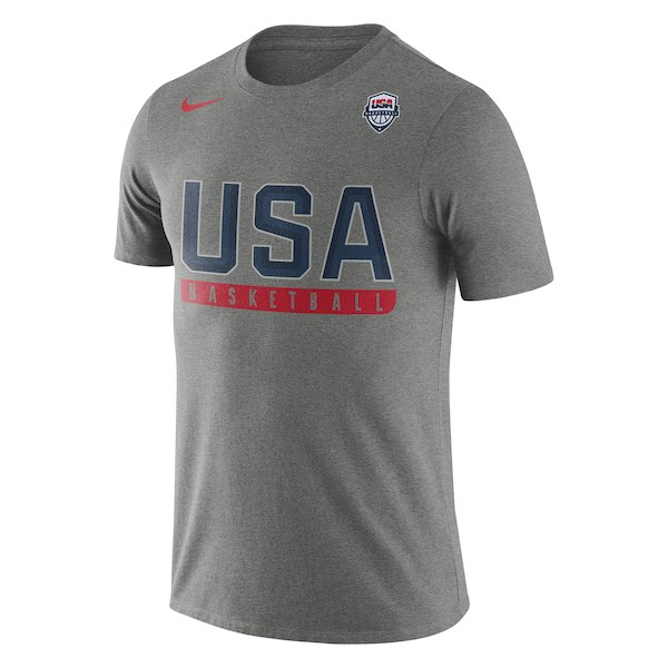 254Men's USA Basketball Nike Gray