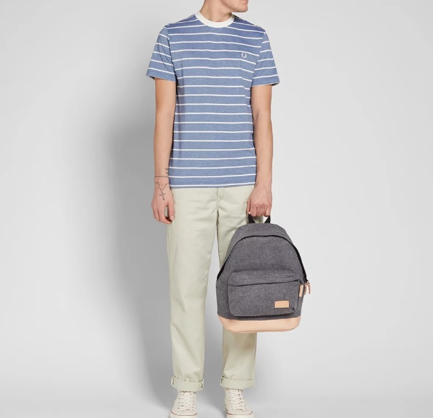 299Fred Perry Oxford Stripe Pique