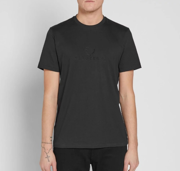 299Fred Perry Tonal Embroidere