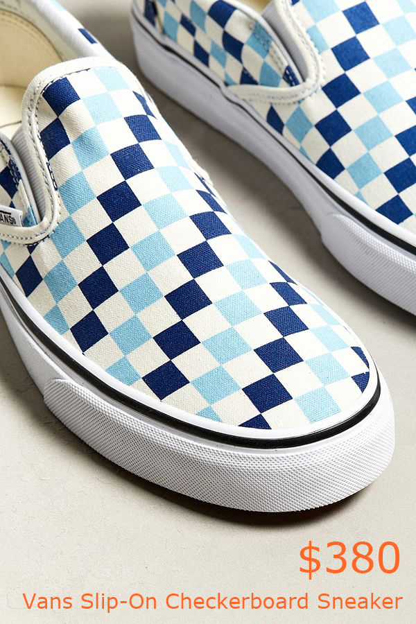380Vans Slip-On Checkerboard Sneaker