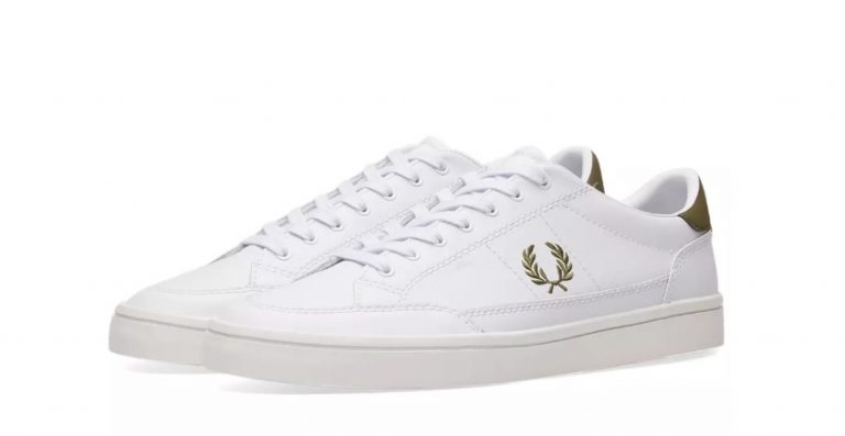 399Fred Perry Deuce Leather Sneaker