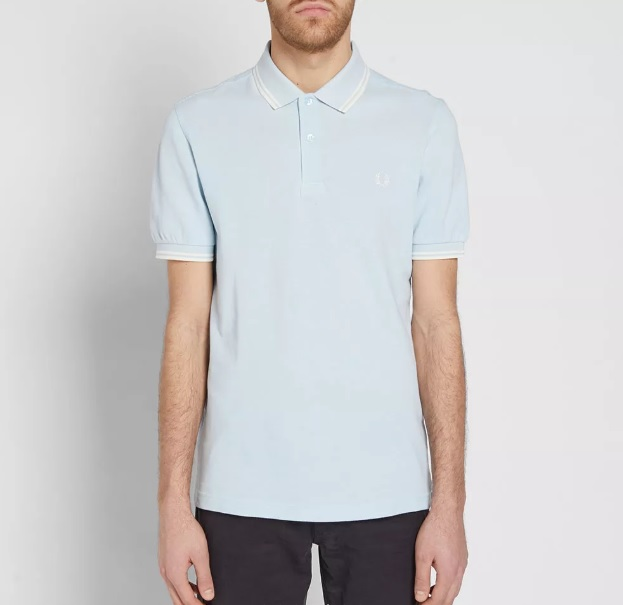 399Fred Perry Twin Tipped Polo