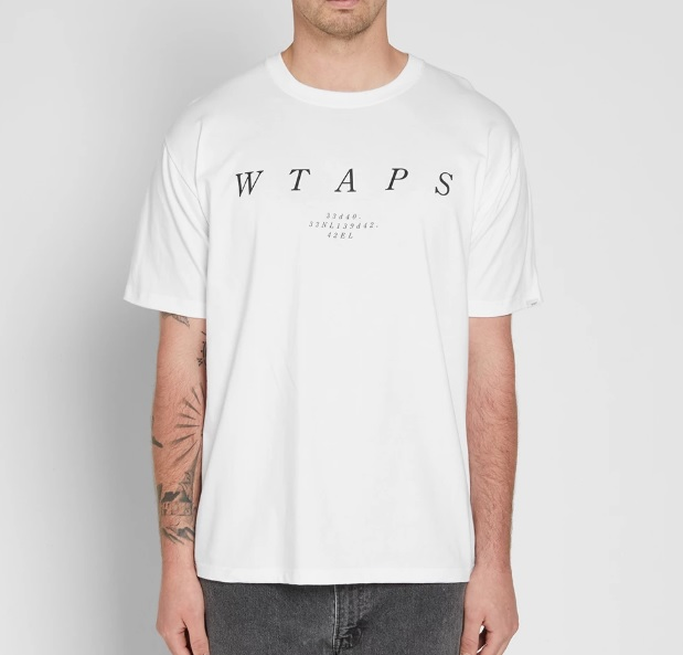 492WTAPS System Tee