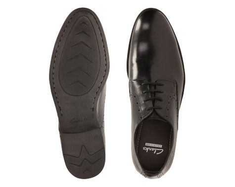 602Chart Walk Black Leather