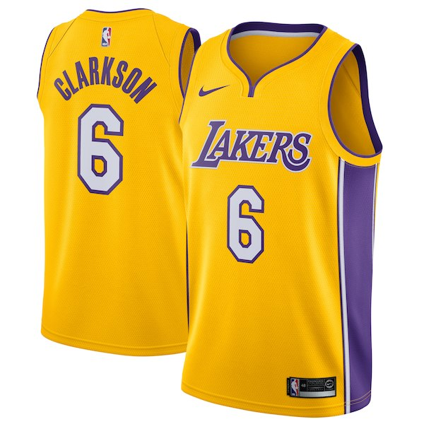 603Men's Los Angeles Lakers Jordan Clarkson