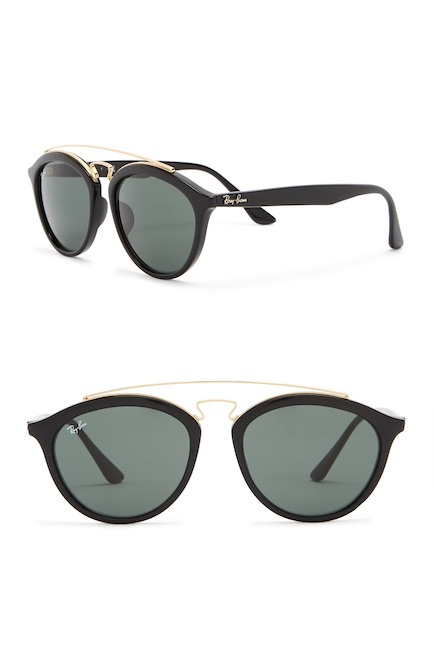 706Ray-Ban - Women's Highstreet 55mm Browbar