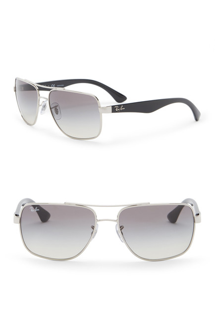 731Ray-Ban - Men's 60mm Metal Square