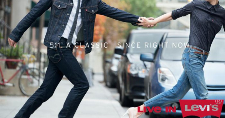 """The Levi's(R) Brand Launches """"Live In Levi's(R)"""" -- A New, Global Campaign Inspired By Millions Of Stories From Passionate Fans (PRNewsFoto/Levi Strauss & Co.)"""