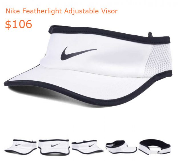 106Nike Featherlight Adjustable Visor