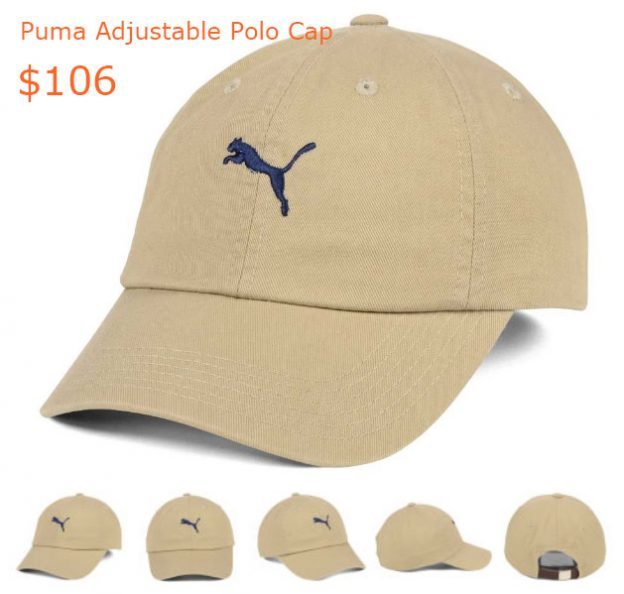 106Puma Adjustable Polo Cap