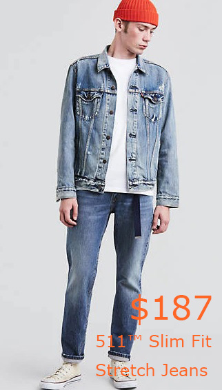 187-511™ Slim Fit Stretch Jeans - Medium Wash - Levi US Site