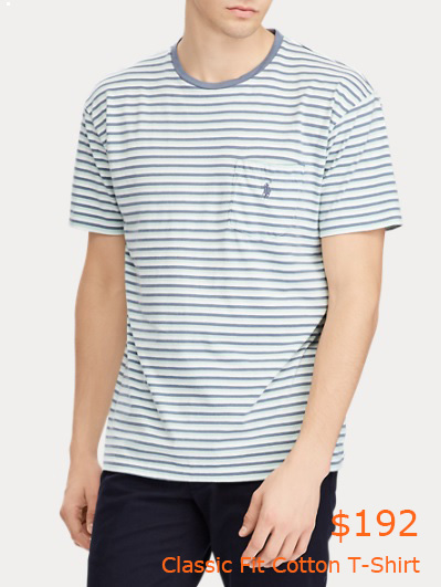 192Classic Fit Cotton T-Shirt