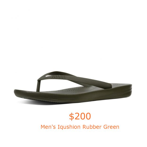 200Men's Iqushion Rubber Green