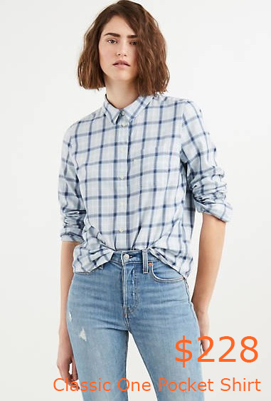 228Classic One Pocket Shirt - Blue - Levi US Site