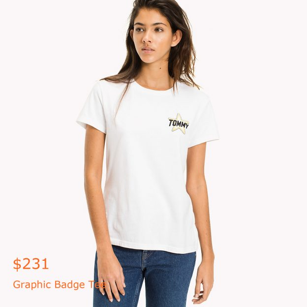 231Graphic Badge Tee