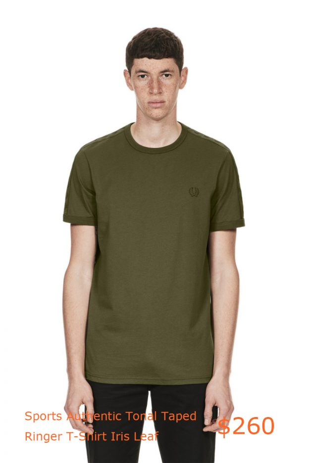 260Fred Perry - Sports Authentic Tonal Taped