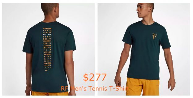 277RF Men's Tennis T-Shirt