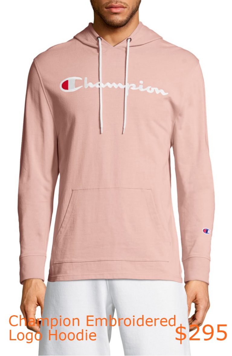 295Champion Embroidered Logo Hoodie