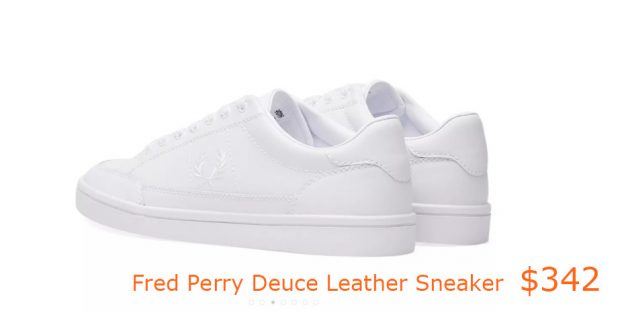 342Fred Perry Deuce Leather Sneaker
