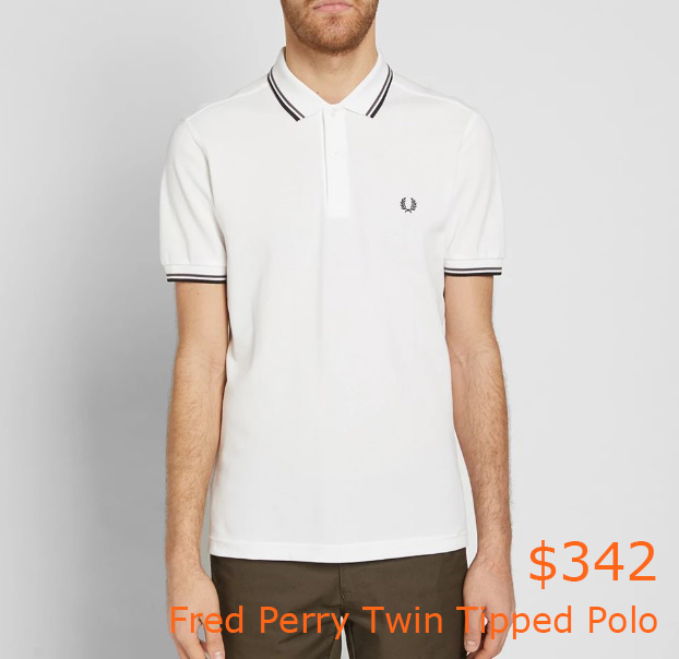 342Fred Perry Twin Tipped Polo 1