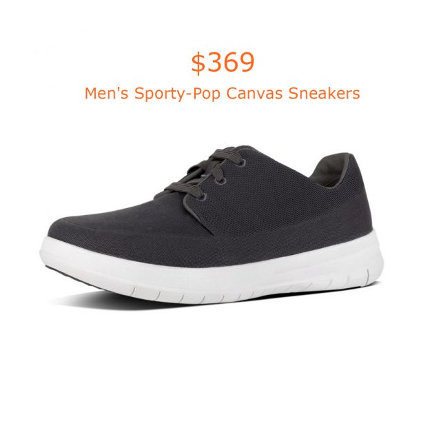 369Fitflop Men's Sporty-Pop Canvas Sneakers