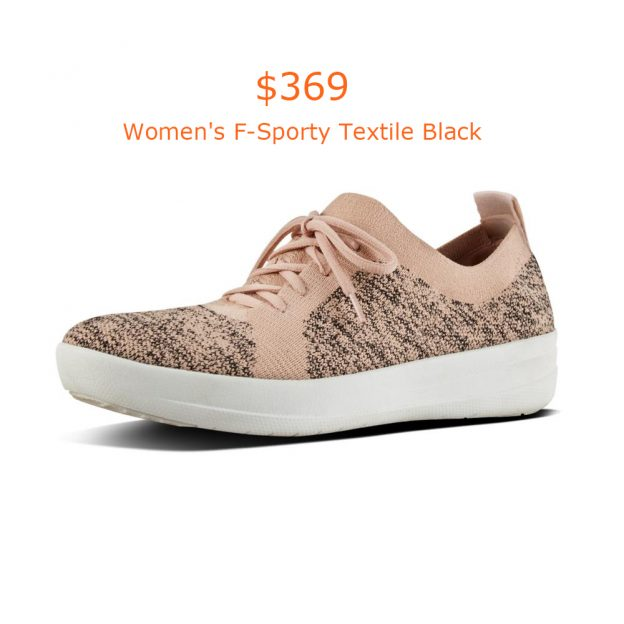 369Women's F-Sporty Textile Black